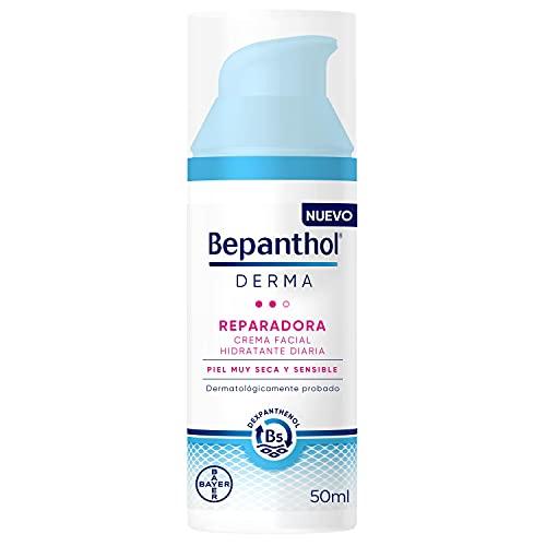BEPANTHOL Derma Reparadora Crema Facial Hidratante De Día, Piel Muy Seca Y Sensible, 50 Mililitro