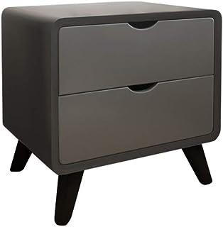 Table de chevet de style nordique boîte de rangement en bois boîte de rangement de fichiers fournitures de rangement boîte...
