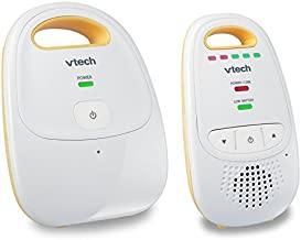 VTech DM111 Audio Baby Monitor with up to 1,000 ft of Range, 5-Level Sound Indicator, Digitized Transmission & Belt Clip