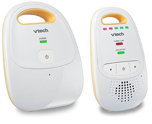 VTech DM111 Audio Baby Monitor with up to 1,000 ft of Range, 5-Level Sound Indicator, Digitized...