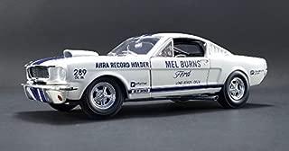 NEW DIECAST TOYS CAR ACME 1:18 1965 DRAG SHELBY GT350 - MEL BURNS A1801811