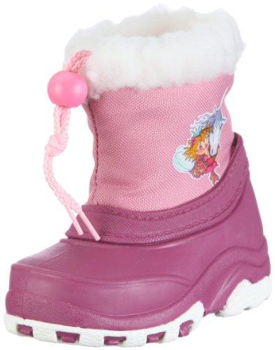 Prinzessin Lillifee Nadine 120046, Mädchen Stiefel, Pink (pink/rosa/weiß 43), EU 26/27
