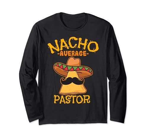 Nacho Media Pastor Predicador Líder religioso Cinco de Mayo Manga Larga