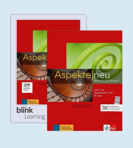 Aspekte neu B1 plus - Teil 1 - Media Bundle: Mittelstufe Deutsch. Lehr- und Arbeitsbuch mit Audios inklusive Lizenzcode für das Lehr- und Arbeitsbuch mit interaktiven Übungen Teil 1