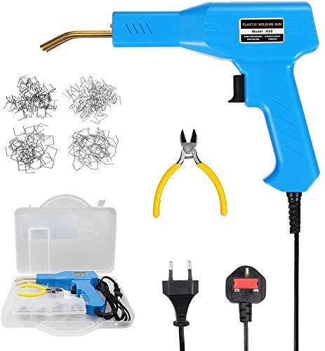 Kit de reparación de plástico de 50 vatios, máquina de soldadura de plástico caliente, máquina de soldadura de plástico para parachoques de automóvil, máquina de soldadura de plástico de la carrocería