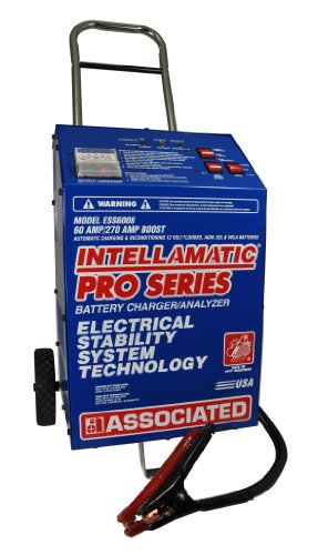 Associated Equipment ESS6008 Intellamatic 12V 60 Amp Charger with Wheels