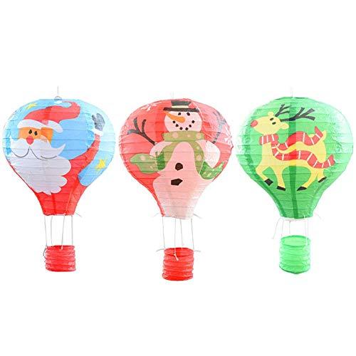 3pcs Chinesische Himmelslaternen Skylaternen Biologisch Abbaubares Hochwertiges Papier Himmelslaternen Skyballons, Ideal Für Weihnachten Neujahr Hochzeiten Feiertage