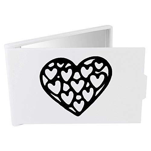 Azeeda 'Coeur de Coeurs' Miroir Compact / de Poche (CM00015519)