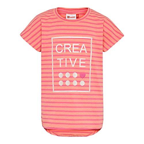 Lego Wear Mädchen Lego Girl Tippi 330-T-SHIRT T-Shirt, Rosa (Pink 459), (Herstellergröße: 146)