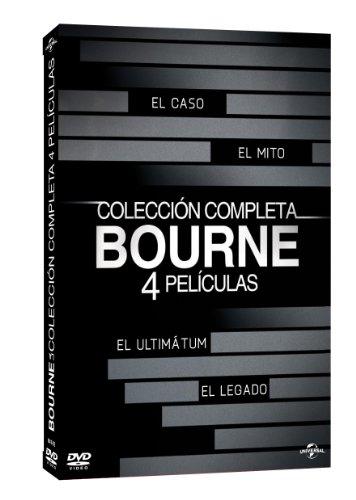 Bourne: El Caso / El Ultimatum / El Mito / El Legado (Collección Completa) [DVD]