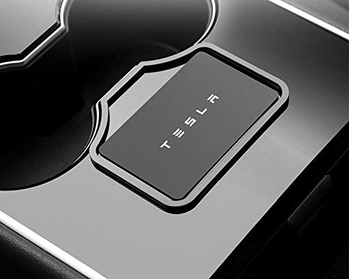 Xipoo Center Console Key Card Holder Prevent The Key Card from Slipping for Tesla Model 3
