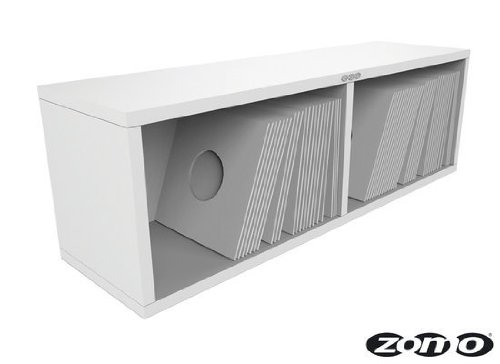 Zomo VS-BOX 7/200 - Estantería para accesorios de dj, color blanco