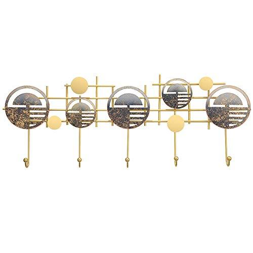 OH Ropa Creativa Sombrero Hook, 6-Gancho Montado en la Pared Estante de la Capa Flotante, Moderno, Liso, Capa Que Ahorra Espacio Hanger Ganchos para Colgar Abrigos, Bufandas, Bolsos