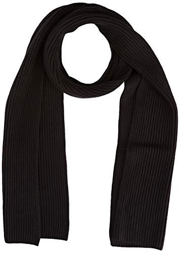 Tommy Hilfiger Pima Cotton Scarf Set di Accessori Invernali, Nero, Unica (Taglia Produttore: OS) Uomo