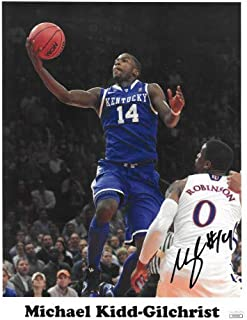 detailed look 73096 076ac Michael Kidd-Gilchrist Autographed Signed Kentucky Wildcats 11x14 Photo   14- JSA Authentic