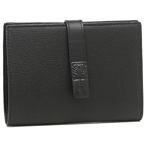 [ロエベ]折り財布 レディース LOEWE 124.12.S87 1100 ブラック [並行輸入品]