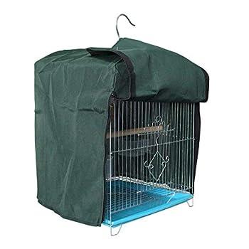 FAMKIT Couverture de Cage à Oiseaux Couverture Coupe-Vent Coupe-Vent Étanche à La Pluie pour Cage à Oiseaux