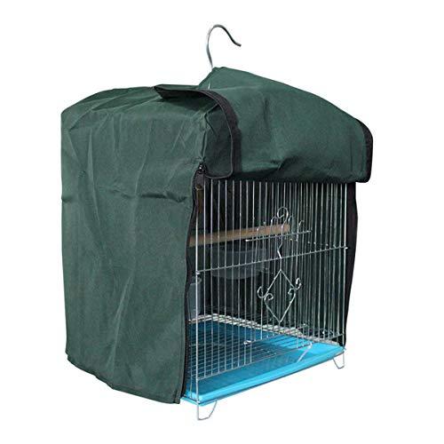 Rehomy Cubierta para jaula de pájaros, resistente al viento, resistente al sol, impermeable, para jaula de pájaros