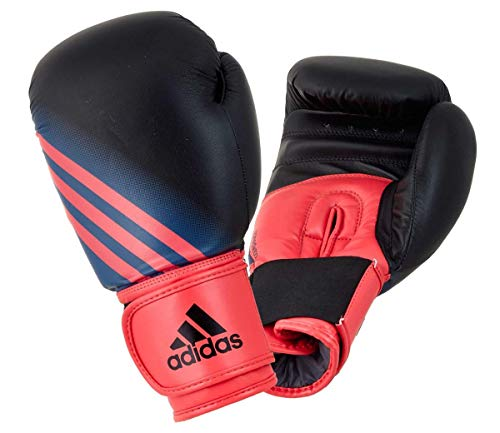 adidas Damen-Boxhandschuhe Speed Women 100, Black/Shock red, ADISBGW100 (8oz.)