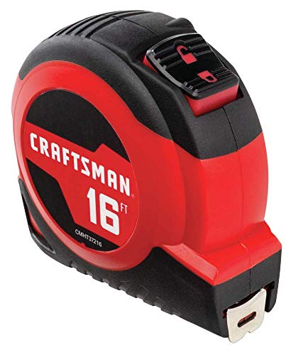 CRAFTSMAN Tape Measure, Self-Lock, 16-Foot (CMHT37216S)