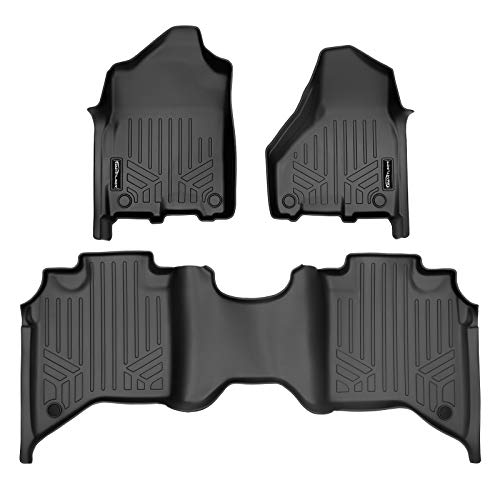 MAX LINER A0450/B0450 for 2019-2021 Ram 2500/3500 Crew Cab with 1st Row Bucket or Bench Seats, Black
