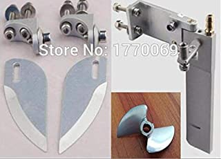 Part & Accessories Feilun FT011 RC Boat metal upgrades Parts metal tail rudder propeller Water-cooled parts motor ESC body shell etc. - (Color: set21)