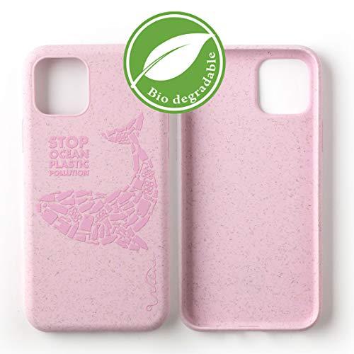 Wilma Umweltfreundliches, biologisch abbaubare Handy Schutzhülle Kompatibel mit iPhone 11, Stop Meeres Plastik Verschmutzung, Kunststoff-frei, abfallfrei, ungiftig, Vollschutz Hülle - Matt Wal