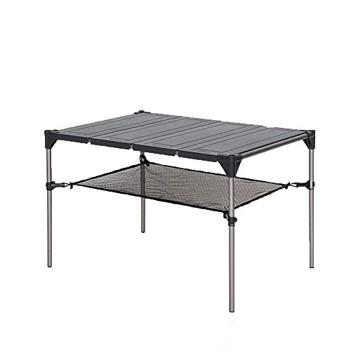 Portable Camping Table Lightweight Outdoor Folding Picnic Table Aviation Aluminum Travel Folding Table Multifunctional Simple Camping Table Is Very Suitable For Backpack Camping Barbecue And Picnic Ex