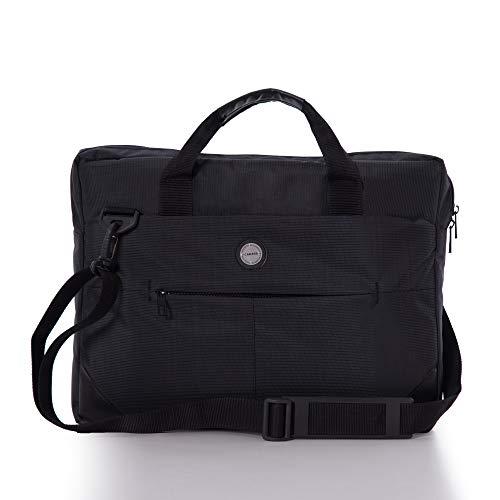 Cakard 0035 | Laptoptasche 17.3 Zoll | Notebook Tasche 17 Zoll | Aktentasche | Wasserdicht | Umhängetasche | Schultasche Lehrer | Arbeitstasche Damen Herren | Gaming Laptop Taschen | (Schwarz)