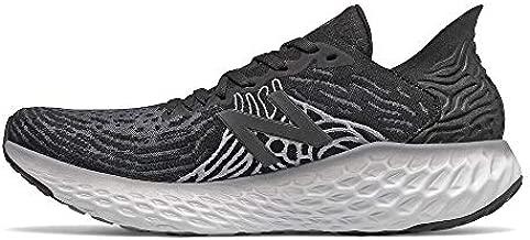 New Balance Men's Fresh Foam 1080 V10 Running Shoe, Black/Steel, 9 Wide