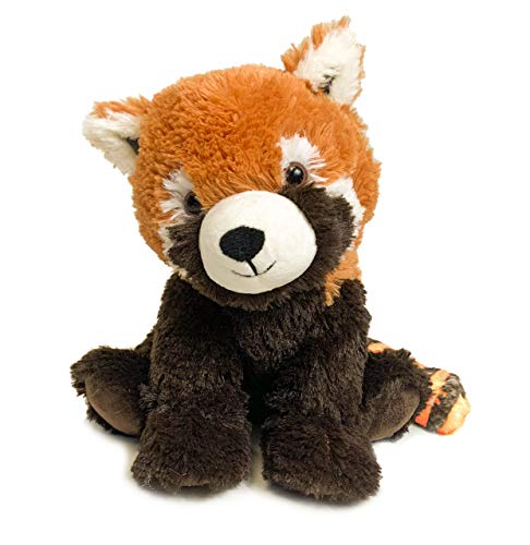 Intelex Warmies Microwavable French Lavender Scented Plush, Red Panda Warmies, Multicolor, 14' X 8' X 4'
