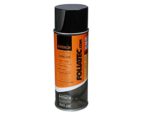 Foliatec 2003 Interior Color Spray schwarz glänzend, 400 ml