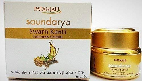 PATANJALI Saundarya Swarn Kanti Fairness Cream, 15gm (Pack of 1)