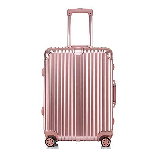 Rollende laptoptas, lichte bagage bij de check-in soft-medium-koffer, 4 wieltjes, harde reistas van polycarbonaat, met TSA-sluiting (24 inch, 60 cm, 5 kleuren)