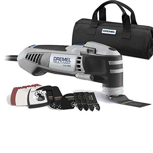 Dremel mm40-06 multi-max 3.8-amp oscillating tool kit