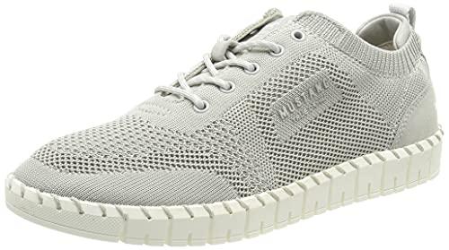 MUSTANG Damen 1379-301 Sneaker, Hellgrau, 42 EU