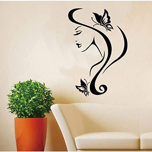 Arte pegatinas de pared femeninas calcomanías de patrones exquisitos para la sala de estar papel tapiz de fondo extraíble decoración del hogar pegatinas murales A6 28x43cm