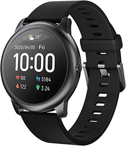 GANG Smartwatches, Impermeable 1,28 '' Actividad de Pantalla Táctil Fitness Bluetooth Smart Watches Ejercicio Tracker Hombres Mujeres Monitor de Ritmo Cardíaco Monitor de Seguimiento D