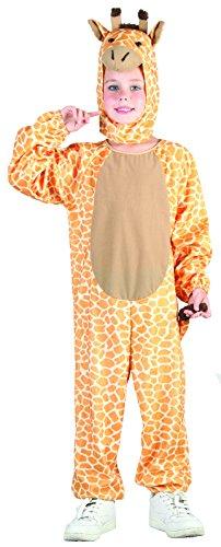 Rire Et Confetti - Fiaani021 - Déguisement pour Enfant - Costume Petite Girafe - Taille S