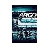 Klassisches Filmposter Argo 4, Leinwand-Poster,