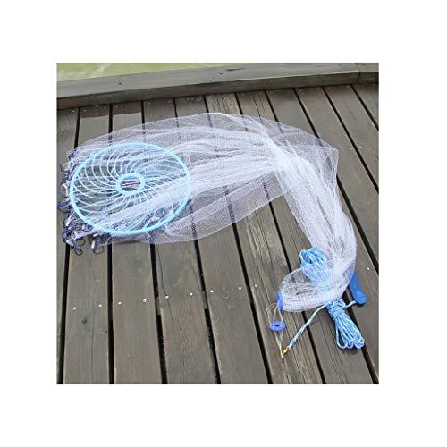 Frisbee vislijn voor vissen, zeemeermin, zeemeermin, vislijn, 3,6 m, zink