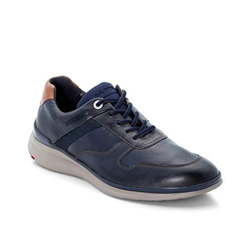 LLOYD Herren Low-Top Sneaker Matai, Männer Sneaker,Halbschuh,Schnürschuh,Strassenschuh,Business,Freizeit,Pacific/DKL.BLAU/Kenia,10 UK / 44.5 EU