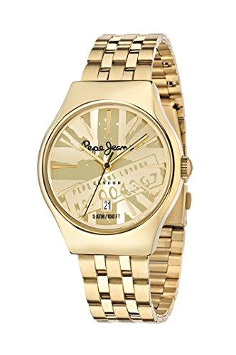Pepe Jeans Reloj analógico para Hombre de Cuarzo con Correa en Acero Inoxidable R2353113002
