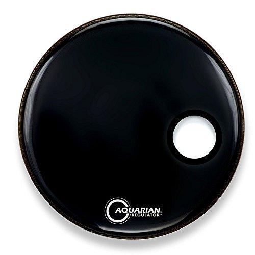 Aquarian RSM22BK Bass Drum Fell Regulator 55,88 cm (22 Zoll)
