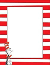 Eureka Red and White Dr.Seuss Cat in the Hat Computer Paper for Kids, 8.5'' W x 11'' H