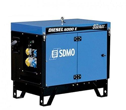 DIESEL 6000 E SILENCE SDMO Stromerzeuger