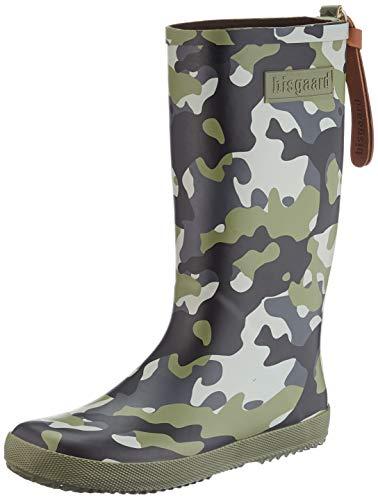 Bisgaard Unisex-Kinder 92007999 Gummistiefel, Mehrfarbig (176 Camouflage 176), 27 EU