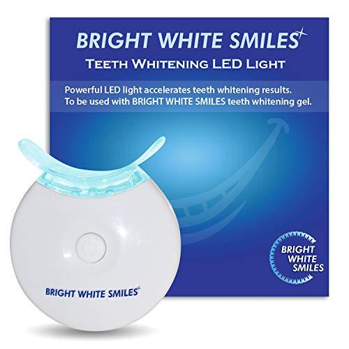 Bright White Smiles Teeth Whitening Accelerator Light, 5x More Powerful Blue LED Light, Whiten Teeth Faster