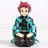 Yubingqin Demonio Slayer Kamado Tanzidou Nezuko Zenitsu Agatsuma Hashibira inosuke Mini PVC Figura Toy Dibujos Animados Muñecas 10 cm