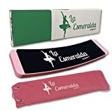 La Esmeralda Ballet Turning Board for Dancers - Figure Skating Ballet Dance Turning Pirouette Board Training Equipment for Dancers, Ice Skaters, Gymnasts and Cheerleaders.(Pink with a Carry Bag)